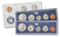 1965-1967 United States Special Mint 3 Year Set BU