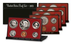 1973-1978 Proof Sets Black Box Collection