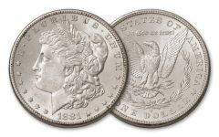 1881-S Morgan Silver Dollar BU