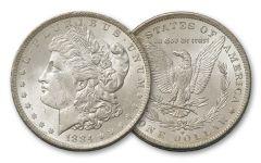 1879-1899-O Morgan Silver Dollar BU