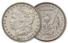 1892-P Morgan Silver Dollar XF