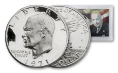 1971-S Eisenhower Dollar Proof with Holder