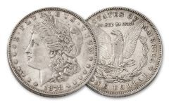 1878-P Morgan Silver Dollar 7 Tail Feathers XF
