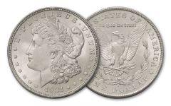 1921-S Morgan Silver Dollar BU