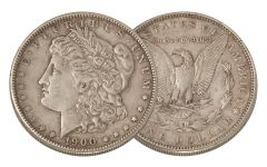 1900-P Morgan Silver Dollar XF