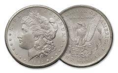 1884-CC Morgan Silver Dollar BU