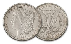 1890-O Morgan Silver Dollar XF