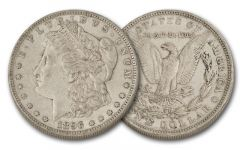 1896-P Morgan Silver Dollar XF