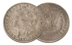 1901-O Morgan Silver Dollar XF