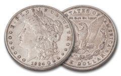 1884-S Morgan Silver Dollar XF
