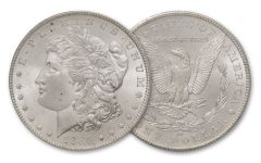 1885-CC Morgan Silver Dollar BU