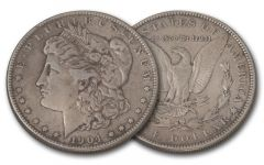 1904-S Morgan Silver Dollar XF