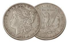1893-O Morgan Silver Dollar XF