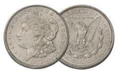 1921-D Morgan Silver Dollar XF