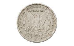 1890-CC Morgan Silver Dollar VF