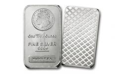 Morgan Design 1-oz Silver Bar