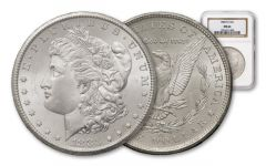 1883-CC 1 Dollar Morgan NGC-PCGS MS64