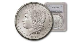 1878-S 1 Dollar Morgan PCGS/NGC MS64