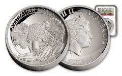 AUS 2014 1-oz Silver Koala HR FS PF69