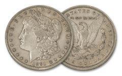 1891-S $1 MORGAN XF