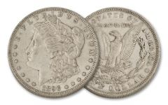 1896-O Morgan Silver Dollar XF
