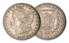 1887-S $1 Morgan Silver Dollar XF