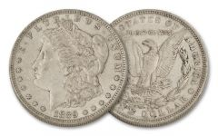 1889-O Morgan Silver Dollar XF