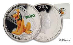 2014 Niue 1-oz Silver Disney Pluto Proof