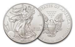 2016 1 Dollar 1-oz Silver Eagle BU