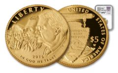2016-W 5 Dollar 1-oz Gold National Park NGC PF70UCAM FDI Jones Signed