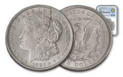 1921-P $1 MORGAN NGC MS64