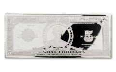 1923 5 Dollar 1-oz Lincoln Porthole Silver Currency Proof