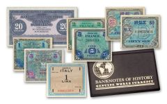Allied Military Paper Currency 8 Pc Set
