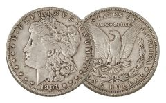 1901-S Morgan Silver Dollar VF