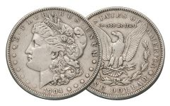 1904-P Morgan Silver Dollar VF