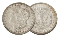1888-P Morgan Silver Dollar XF