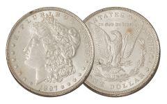 1897-P Morgan Silver Dollar AU