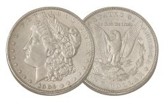 1904-P Morgan Silver Dollar AU