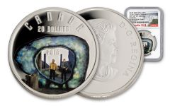 2016 Canada 20 Dollar 1-oz Silver Edge Of Forever NGC PF69UCAM