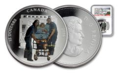 2016 Canada 15 Dollar Silver Heroes Paramedics NGC Early Releases PF69UCAM