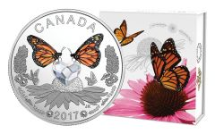 2017 Canada 3 Dollar Silver Swarovski Celebration of Love Proof