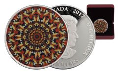 2016 Canada 20 Dollar 1-oz Silver Kaleidoscope: The Loon Proof