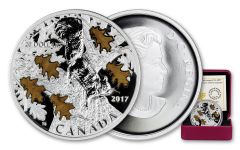2017 Canada 1 Ounce $20 Silver Nutty Squirrel & Mighty Oak Proof