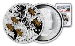 2017 Canada 1 Ounce $20 Silver Nutty Squirrel & Mighty Oak NGC PF69UC Early Releases