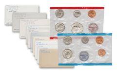 1970-1979 U.S. Mint Set 10-Pc Collection