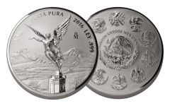 2016 Mexico 1 Kilo Silver Libertad Proof