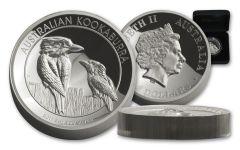 2017 Australia 8 Dollar 5-oz Silver Kookaburra HR Proof