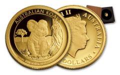2017 Australia $15 1/10-oz Gold Koala Proof