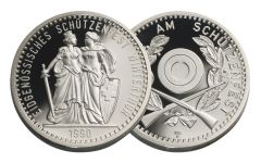 1990 Switzerland Shooting Festival Thaler – Winterthur Gem Proof