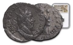 260-269 AD Roman Bronze South Petherton Hoard Postumus NGC XF